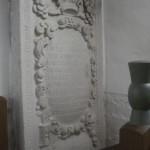 Grabstein von Pfarrer Caspar Rumpach