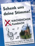 Flyer_Kirchenchor