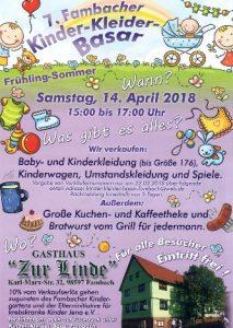 7. Fambacher Kinderbasar